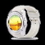 Інноваційні наручний годинник SmartWatch V8, фото 2