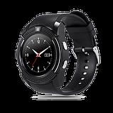 Інноваційні наручний годинник SmartWatch V8, фото 3