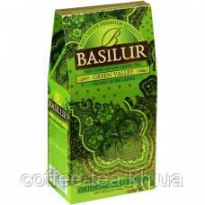 Чай зеленый ТМ Basilur Зеленая долина картон 100г