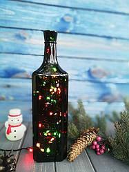 Гирлянда в бутылке, Новогоднее украшение