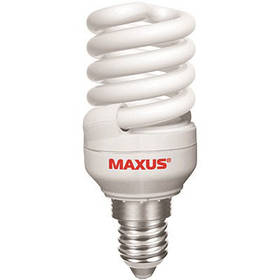 Лампа Maxus ESL-007-1 T2 NFS 15 Вт 2700K E14
