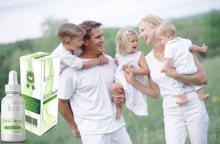 Капли Eco Anti Toxin от паразитов