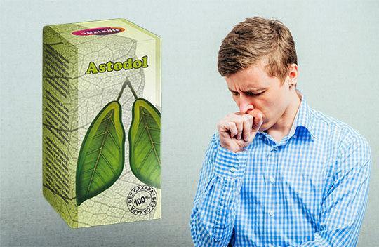 Капли для лечение различных видов болезней дыхательной системы Hevital Astodol