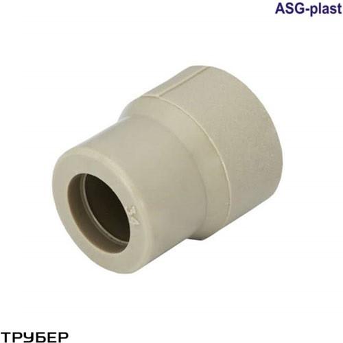 Муфта редукционная 110*50 внутренняя полипропилен  ASG