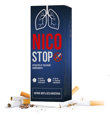 Краплі від тютюнової залежності Никостоп
