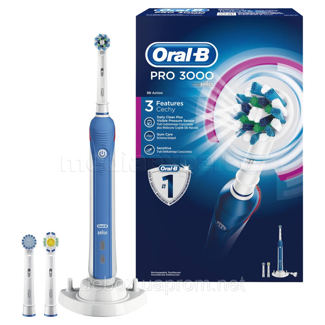 Электрическая зубная щетка Oral-B Professional Care 3000 - купить по ... 4780031471e66