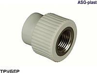 Муфта с внутренней резьбой 110*4' полипропилен ASG