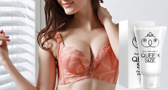 Квин Сайз (Queen Size) – крем для безопасного увеличения груди
