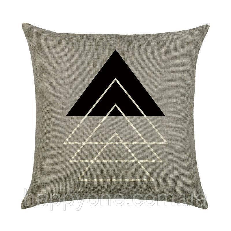 Декоративная подушка Triangle Series