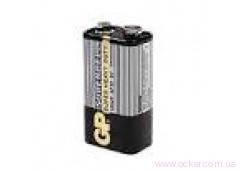Батарейка GP 6F22 Supercell серая крона в кор. (жёлтая пачка) (10/500) [133014], фото 2