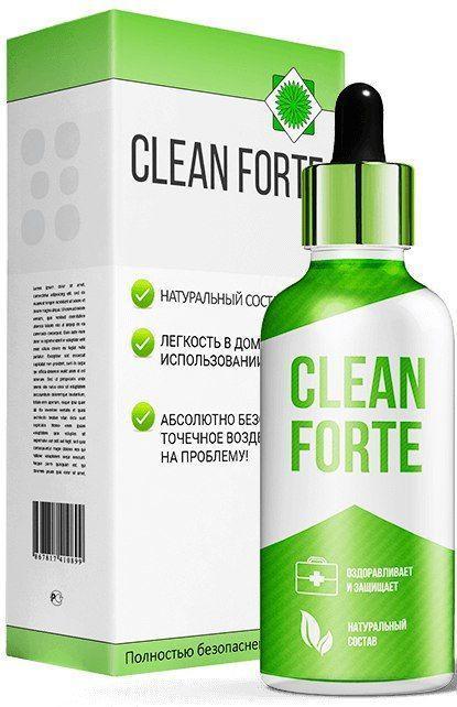 Клин Форте (Clean Forte) средство от грибка ногтей и стоп