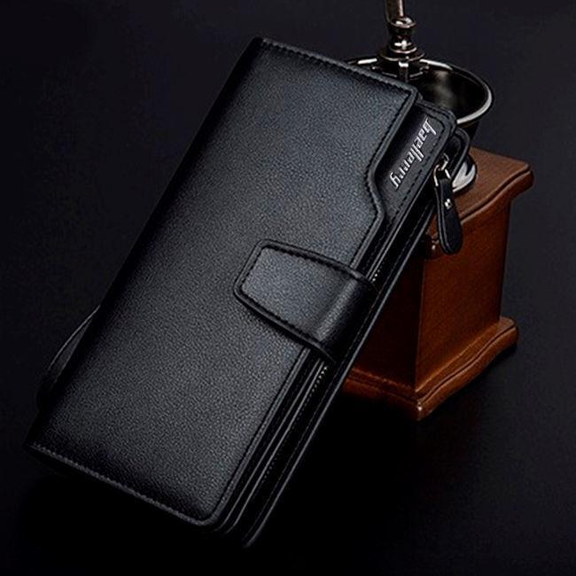 Кожаный клатч-портмоне Baellerry
