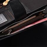 Кожаный клатч-портмоне Baellerry, фото 6