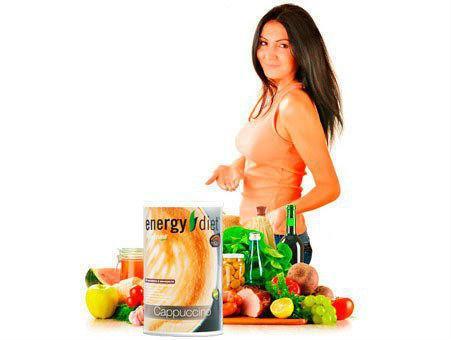 Коктейли для похудения Энерджи Диет (Energy Diet)