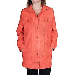 Куртка Velna О-6005 в горох S Оранжевый О-6005 1, КОД: 258871