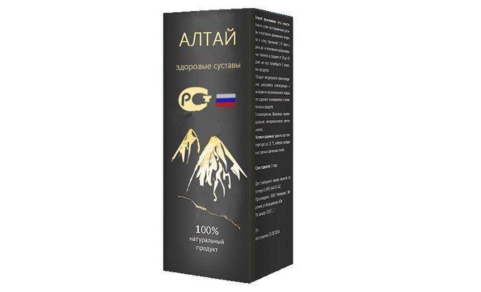 Крем для суставов Алтай