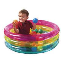Игровой центр Бассейн Intex 48674 детский с шариками 50шт