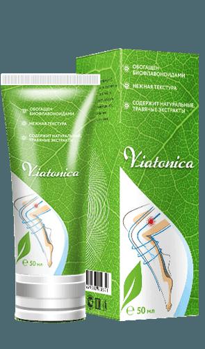 Крем от варикоза Viatonica (Виатоника)