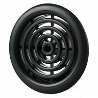 Вентиляционная решетка Vents МВ 51/4 бВ Ø59 мм черная