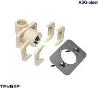 Угол настенный для гипсокартона 20*1/2'  полипропилен  ASG