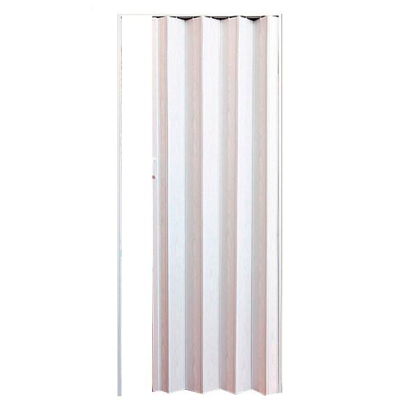 Двери-гармошка Vinci Decor Solo ПВХ 2030x820 мм белый