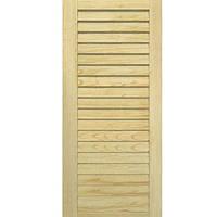 Двери жалюзи Woodtechniс сосна 606x494 мм