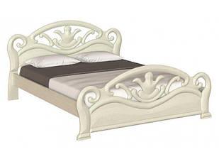 Ліжко двоспальне в спальню з натурального дерева Л-222 Скіф