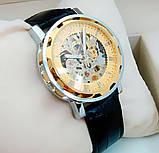 Механические мужские часы Skeleton Winner, фото 2