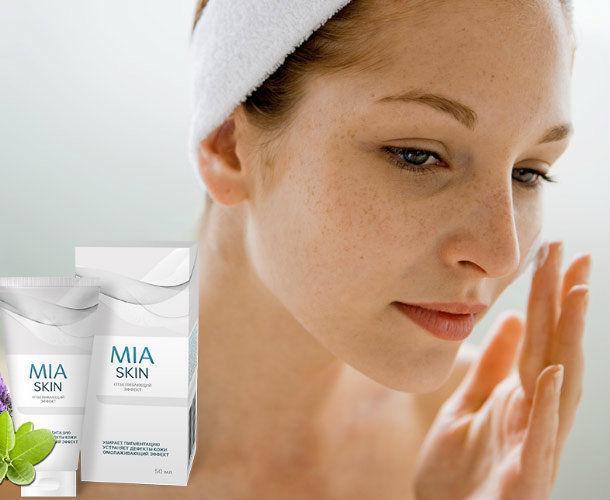 Міа Скін (Mia Skin) — крем від пігментних плям і дефектів шкіри