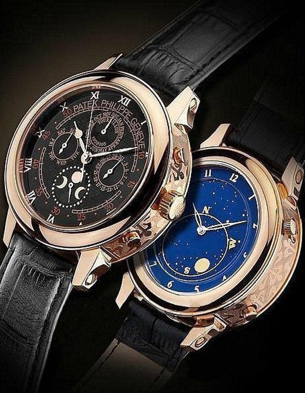 Мужские часы Patek Philippe Sky Moon безупречного качества