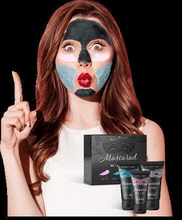Мультимаска Mascarad (Маскарад) от жирного блеска, прыщей и признаков старения