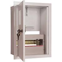 Шкаф под однофазный счетчик на 8 модулей ШМР-1Ф-8А-В