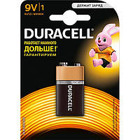 Батарейка Duracell 9V MN1604 KPN 1 шт