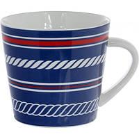 Чашка фарфоровая Морская 400 мл