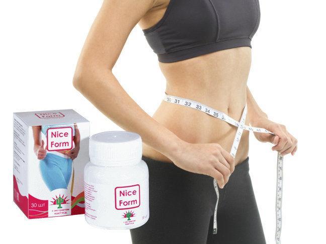 Пастилки для схуднення Nice Form (Найс Форм)