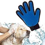 Перчатка Pet Brush Glove для снятия шерсти с домашних животных, фото 4