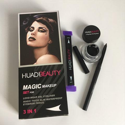 Подводка, штамп и чернила - Huda Beauty