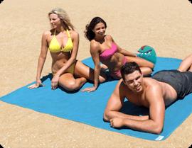 Подстилка анти-песок для пляжа