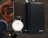 Портмоне Baellery + часы Daniel Wellington и Браслет в подарок, фото 7