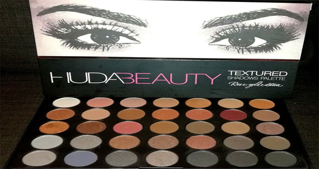 Huda beauty 35в1 color eyeshadow palette