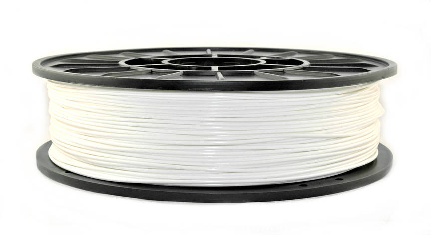 Нить PLA (ПЛА) пластик для 3D печати, Белый (1.75 мм/0.75 кг), фото 2