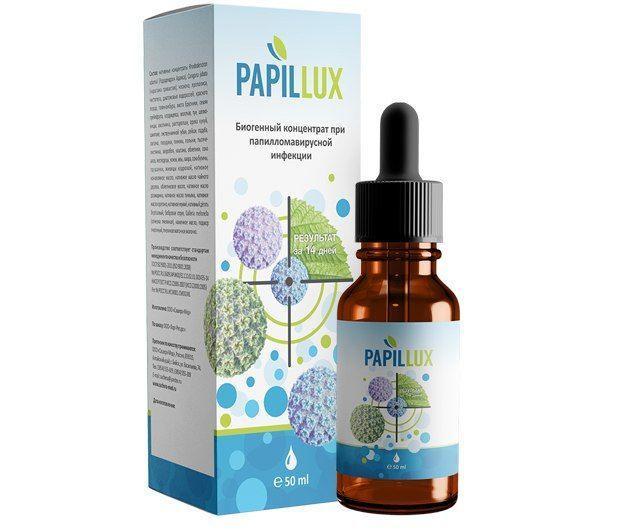 Препарат от папиллом и бородавок Papillux (Папилюкс)