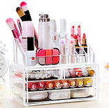 Прозрачный комод для косметики Beauty Box, фото 5