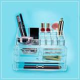 Прозрачный комод для косметики Beauty Box, фото 6