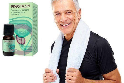Простазин (Prostazin) капли от простатита