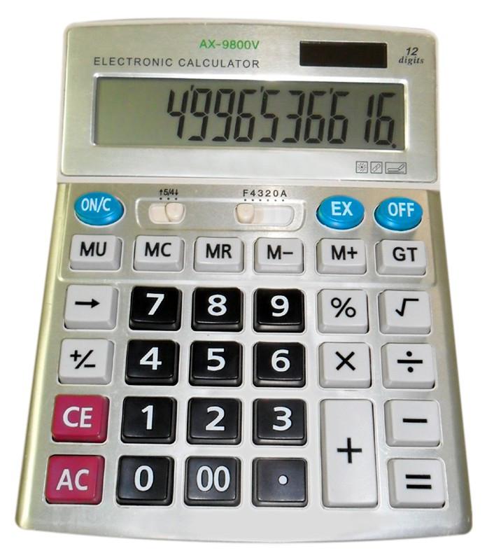Калькулятор настольный AX 9800V