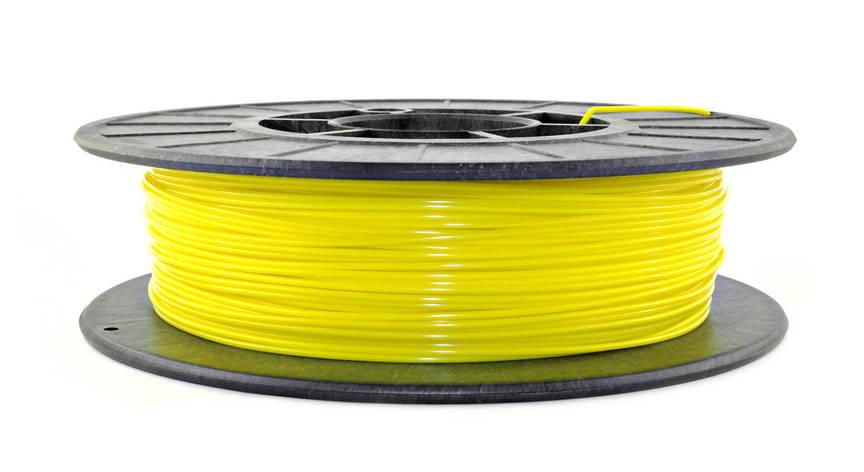 Желтый PLA (1,75 мм/0,5 кг), фото 2