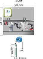 Станция дозированияPR-204 Idegis  Интегрированные панели управления контрольная  уровня свободного хлора (ppm), фото 1