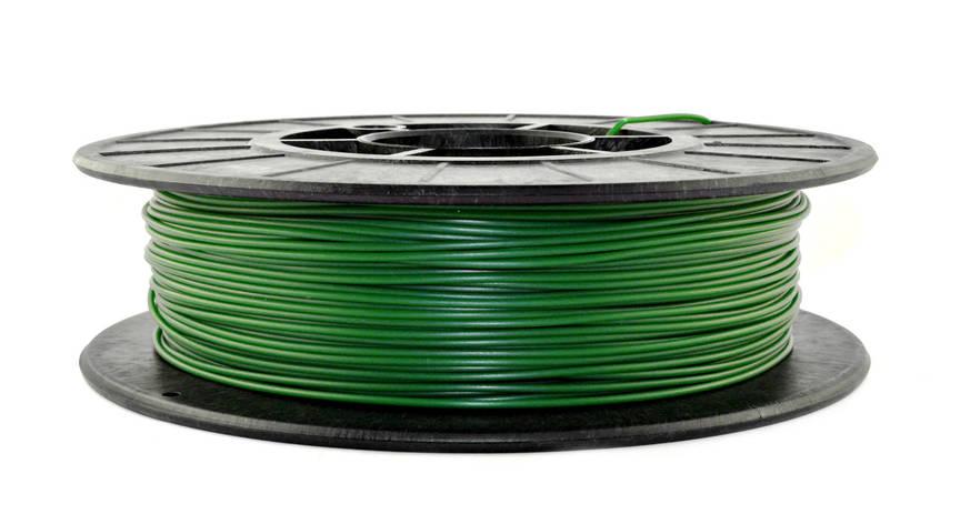 Нить PLA (ПЛА) пластик для 3D печати, Зеленый (1.75 мм/0.5 кг), фото 2