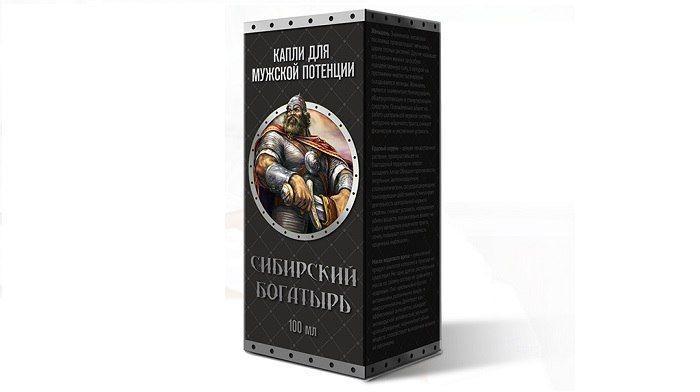 Сибирский богатырь капли для потенции